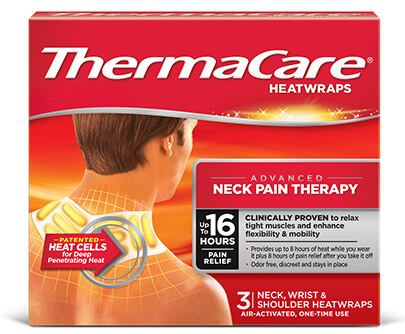 ThermaCare® Neck Pain Relief