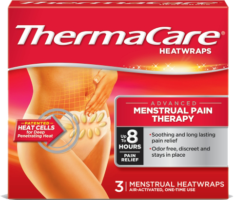 ThermaCare® Menstrual Pain Therapy Pack