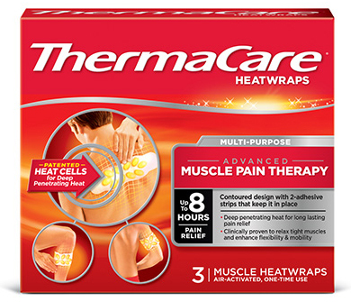 ThermaCare® Muscle Pain Relief