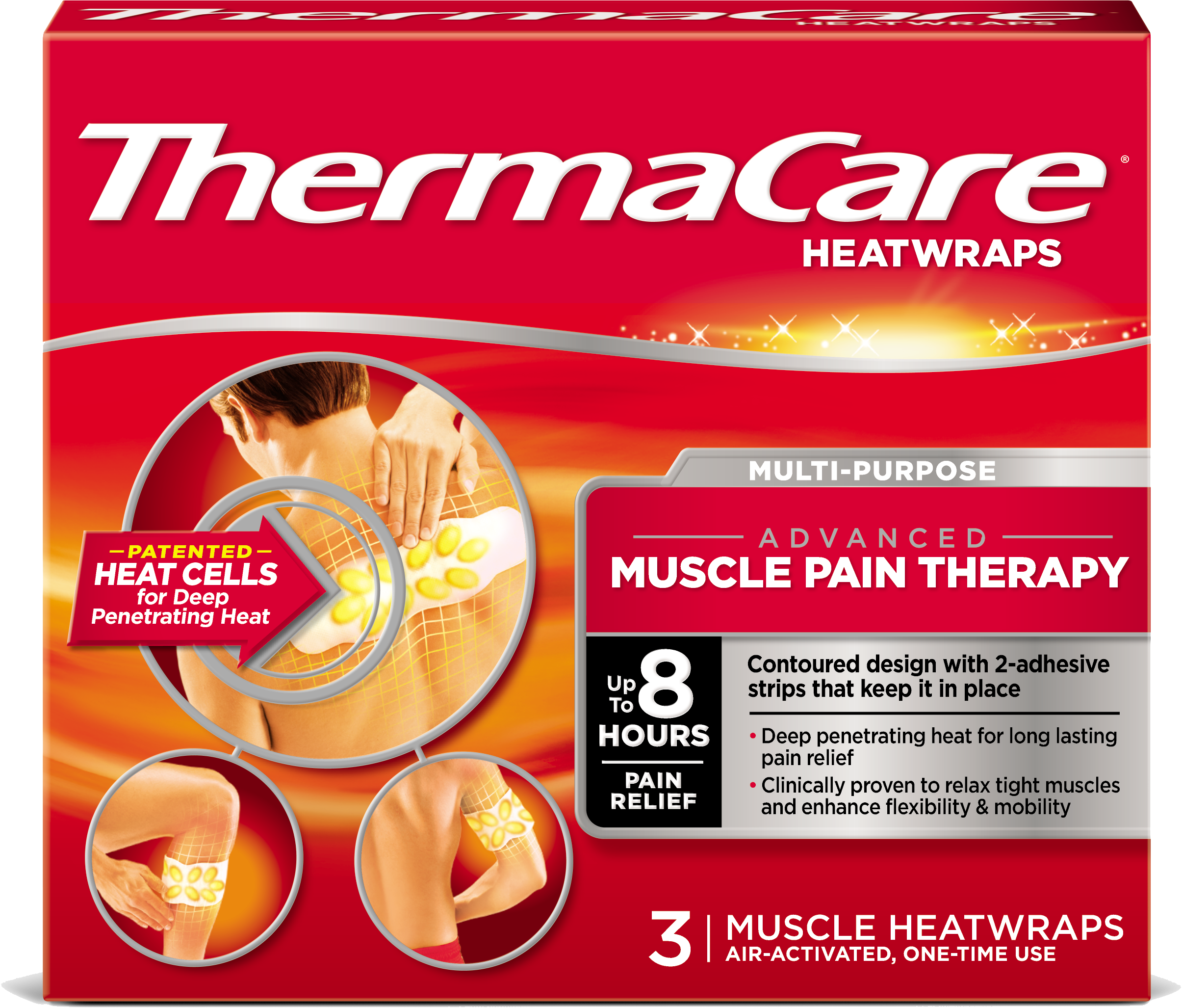 ThermaCare® Muscle Pain Therapy Pack